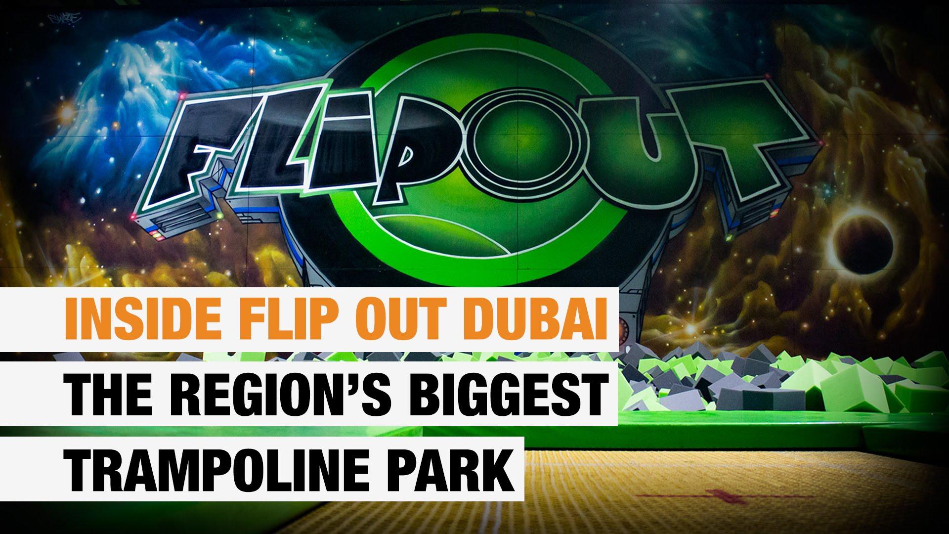 Flip Out Dubai Trampoline Park